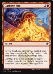 Garbage Fire - Foil