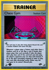 Chaos Gym - 102/132 - Rare - 1st Edition