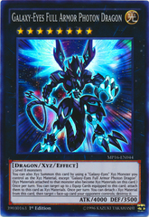 Galaxy-Eyes Full Armor Photon Dragon - MP16-EN044 - Super Rare - 1st Edition