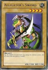 Alligator's Sword - WCPP-EN007 - Rare - Promo Edition