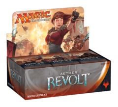 Aether Revolt Booster Box - English (includes buy a box promo while they last)