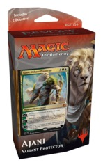 Aether Revolt Planeswalker Deck: Ajani, Valiant Protector on Channel Fireball