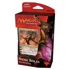 Hour of Devastation Planeswalker Deck: Nicol Bolas The Deceiver on Channel Fireball