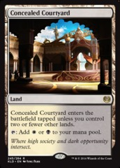 Concealed Courtyard - Foil