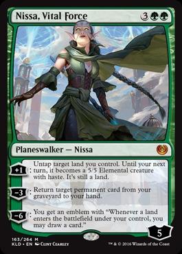 Nissa, Vital Force - Foil