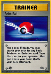 Poke Ball - 64/64 - Common - 1st Edition