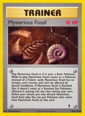 Mysterious Fossil - 109/110 - Common