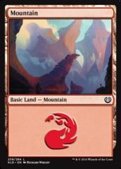 Mountain - Foil (259)(KLD)