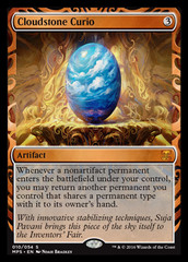 Cloudstone Curio (Masterpiece Foil) on Channel Fireball