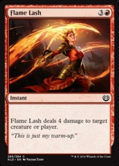 Flame Lash - Planeswalker Deck Exclusive