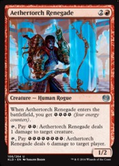 Aethertorch Renegade on Channel Fireball