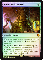 Aetherworks Marvel (Kaladesh Prerelease Foil) on Channel Fireball