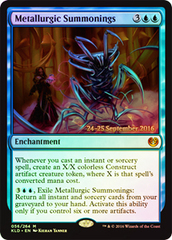Metallurgic Summonings - Prerelease Promo