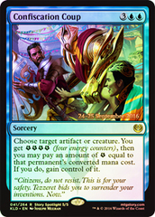 Confiscation Coup - Foil - Prerelease Promo