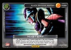 Black Devious Mastery - Foil - 122 (Print 4 Foil)
