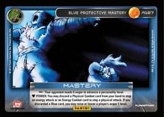 Blue Protective Mastery - Foil - 127 (Print 4 Foil)