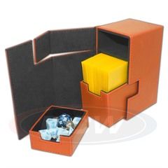 BCW Deck Locker - LX - Orange