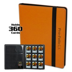 BCW Pro-Folio 9-Pocket LX - Orange