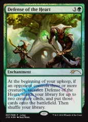 Defense of the Heart - Foil DCI Judge Promo