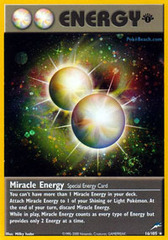 Miracle Energy - 16/105 - Holo Rare - 1st Edition