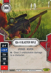 IQA-11 Blaster Rifle (Sold with matching Die)
