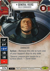 General Veers (Sold with matching Die)