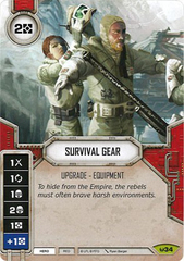 Survival Gear (Sold with matching Die)