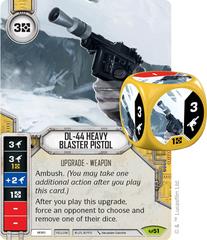 DL-44 Heavy Blaster Pistol (Sold with matching Die)