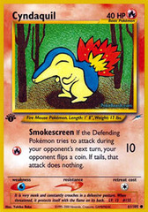 Cyndaquil - 61/105 - Common - 1st Edition