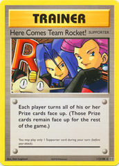 Here Comes Team Rocket! - 113/108 - Secret Rare