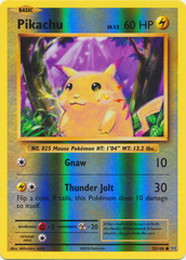 Pikachu - 35/108 - Common - Reverse Holo