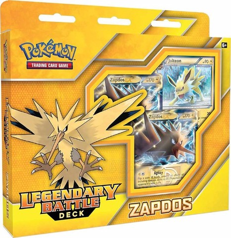 Legendary Battle Deck - Zapdos EX