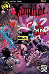 Vampblade #12 Cvr B Winston Young Risque (Mr)