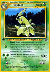 Bayleef - 29/111 - Uncommon - 1st Edition