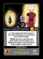 Black Conflict Mastery - DR25