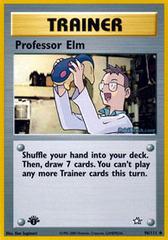 Professor Elm - 96/111 - Uncommon - 1st Edition