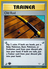 Old Rod - 64/64 - Common - 1st Edition
