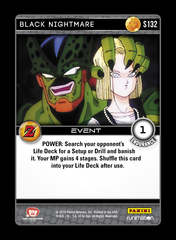Black Nightmare - S132 - Foil