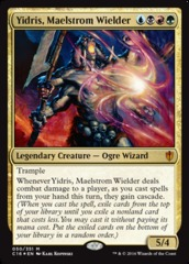 Yidris, Maelstrom Wielder - Oversized Foil on Channel Fireball