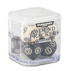 Citadel: Wound Trackers Dice Cube - Black