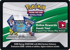 Battle Arena Decks: Rayquaza vs. Keldeo Code Card