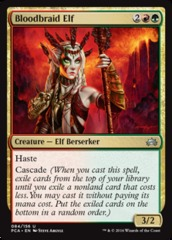 Bloodbraid Elf on Channel Fireball