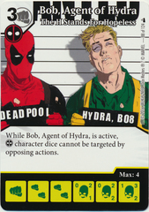 Bob, Agent of Hydra - The H Stands For Hopeless (Die & Card Combo)