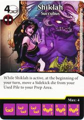 Shiklah - Succubus (Foil) (Die & Card Combo)