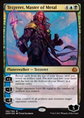 Tezzeret, Master of Metal - Planeswalker Deck Exclusive