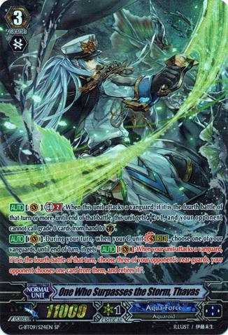One Who Surpasses the Storm, Thavas - G-BT09/S24EN - SP