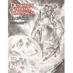 Dungeon Crawl Classics #71: The 13Th Skull (Sketch Cover)