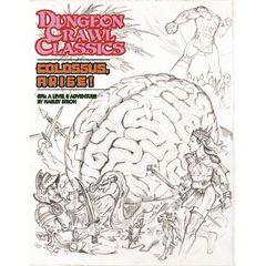 Dungeon Crawl Classics #76: Colossus, Arise! (Sketch Cover)