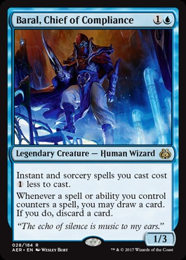 Baral, Chief of Compliance - Foil