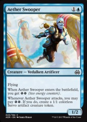 Aether Swooper on Channel Fireball